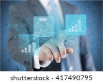 business. | Shutterstock . vector #417490795