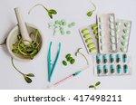 pharmaceutical preparations...   Shutterstock . vector #417498211