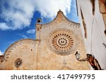 cathedral church of the...   Shutterstock . vector #417499795