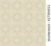 pattern seamless ornament.... | Shutterstock .eps vector #417504511