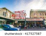 Pike Place Market Or Public...