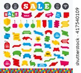 banners  web stickers and... | Shutterstock .eps vector #417540109