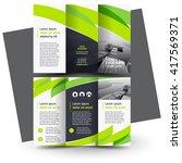 brochure design  business... | Shutterstock .eps vector #417569371
