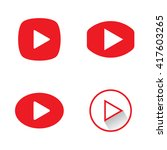 play button icons. red play...