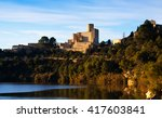 day view of castle at castellet ... | Shutterstock . vector #417603841