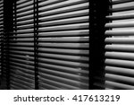 abstract black and white... | Shutterstock . vector #417613219
