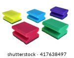 Group Of Five Colorful Kitchen...