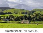 Scenic View Of Farm In...