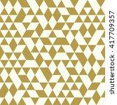 seamless golden pattern of...   Shutterstock .eps vector #417709357