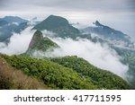 view from pedra bonita in... | Shutterstock . vector #417711595