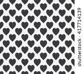 abstract seamless monochrome... | Shutterstock . vector #417714139
