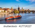 Prague  Czech Republic Skyline...