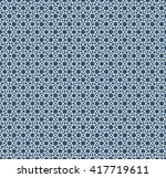 abstract pattern in arabian... | Shutterstock .eps vector #417719611