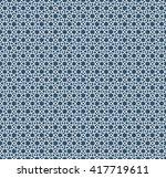abstract pattern in arabian... | Shutterstock .eps vector #417719611