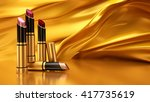 lipstick on a background of... | Shutterstock . vector #417735619