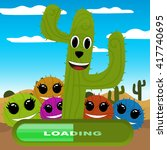 gaming locations funny logic... | Shutterstock .eps vector #417740695