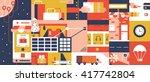 e commerce mobile shop online...