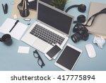 responsive design mockup | Shutterstock . vector #417775894