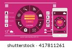 user interface mobile and web...