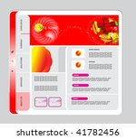 vector web template | Shutterstock .eps vector #41782456