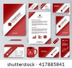 professional universal branding ... | Shutterstock .eps vector #417885841