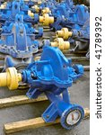 blue water pumps | Shutterstock . vector #41789392