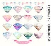 Diamonds Vector Design...