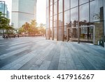 the greening of the office... | Shutterstock . vector #417916267