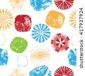gvintage pattern. stains... | Shutterstock .eps vector #417937924