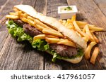 Sandwich With Beef And French...