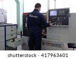 st. petersburg  russia   april... | Shutterstock . vector #417963601