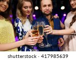party  holidays  celebration ... | Shutterstock . vector #417985639