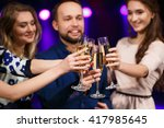 party  holidays  celebration ... | Shutterstock . vector #417985645
