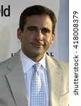 steve carell at the los angeles ...   Shutterstock . vector #418008379