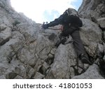 sierra trail to the summit of... | Shutterstock . vector #41801053