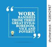 inspirational motivational... | Shutterstock .eps vector #418042987