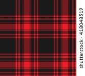 menzies tartan black red kilt...