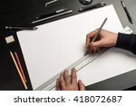 Blank Template For Sketch  Hand ...