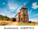 Abandoned Christian Church On...