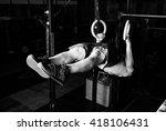gymnastics | Shutterstock . vector #418106431