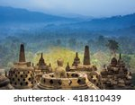 Borobudur Temple At Day Time ...