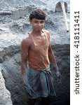 sarberia india  january 16 ...   Shutterstock . vector #418111411