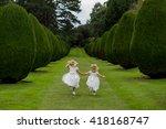 Flower Girls Holding Hands...