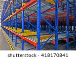 warehouse storage  inside view... | Shutterstock . vector #418170841
