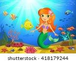 vectorial illustration of a... | Shutterstock .eps vector #418179244