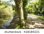 Canal And The River.a Tract Of...