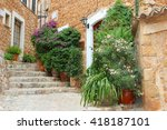 Flowerpots And Rustic Houses I...