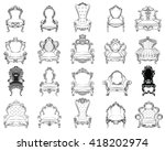 vector great collection of... | Shutterstock .eps vector #418202974