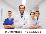 clinic  profession  people ... | Shutterstock . vector #418223281