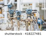 pressure transmitter  and... | Shutterstock . vector #418227481